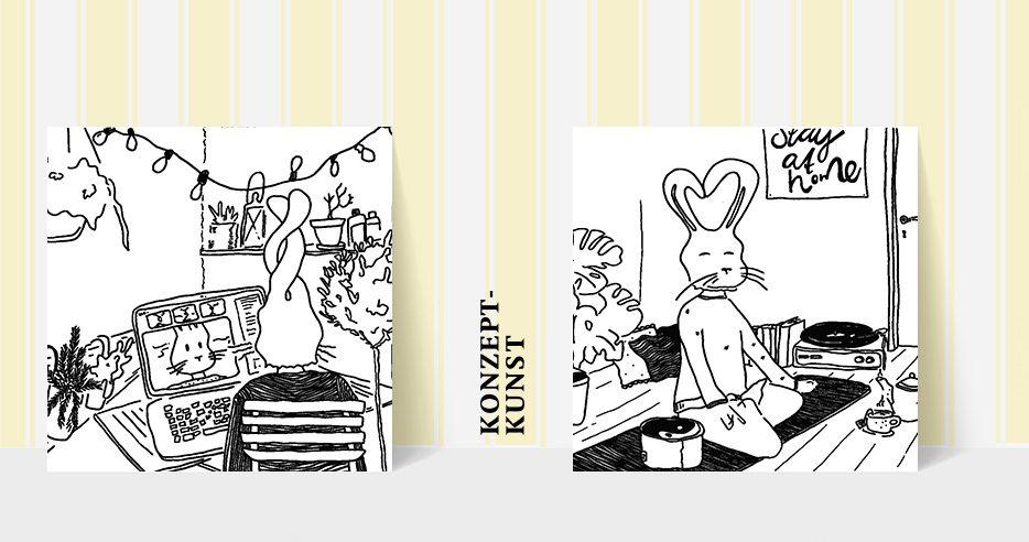 Zwirnerei KonzeptKunst PostCardShopOpen